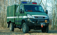 EOD vehicle on IVECO chassis